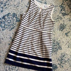 Navy blue Liz Claiborne dress